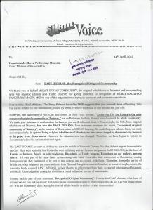Response to CM pg.1