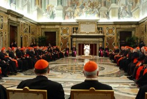 CARDINALS AT CONCLAVE