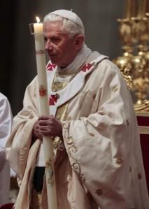 Pope Benedicy XVI Easter Vigil