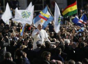 Pope Francis at Inaugural Mass