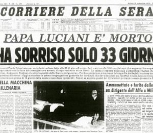 POPE JOHN PAUL 1.jpg DEATH. NEWS