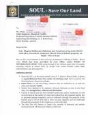 LETTER TO MR. DIXIT Ch. Eng. Rd. & Traffic. Pg. 1