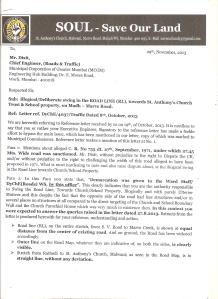 LETTER TO MR DIXIT, CH. ENG....RESPONSE TO RESPONCE PG. 1