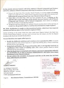 LETTER TO MR. DIXIT, CH. ENG.....RESPONSE TO RESPONCE PG. 2