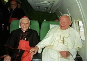 Pope Benedict xvi Pope John Paul ll