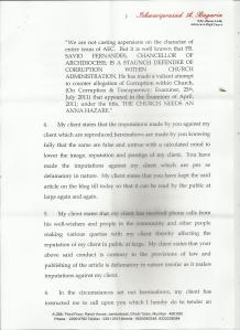LEGAL NOTICE FROM BP SAVIO PG 3