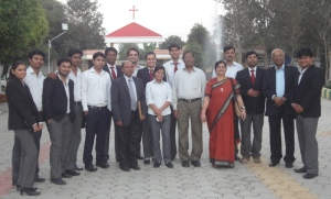 some-of-the-students-and-staff-ximj-2011