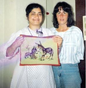 Sr. Mudita & Donkey