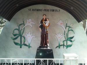 ST. ANTHONY'S GROTTO.....