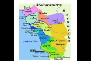 Map of Goa....